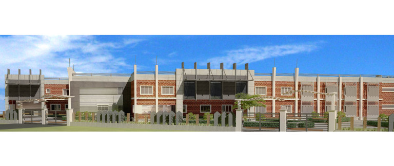 Elevation – school view-4
